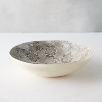 Color Washed Serving Bowl, Extra Large