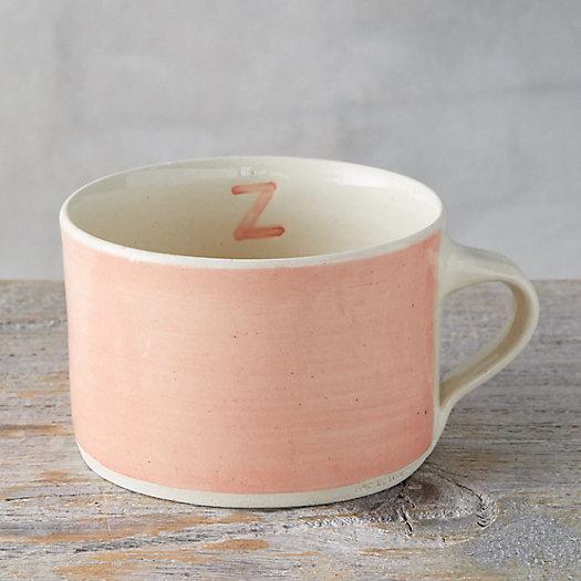 View larger image of Color Washed Monogram Soup Mug