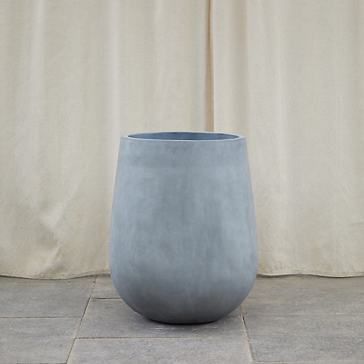 View larger image of Fiber Concrete Rounded Pot