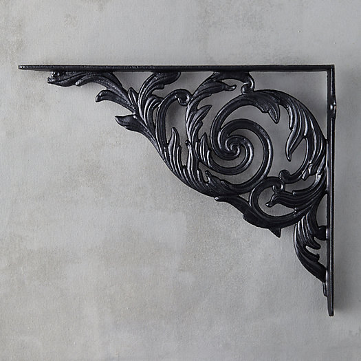 View larger image of Acanthus Iron Wall Bracket