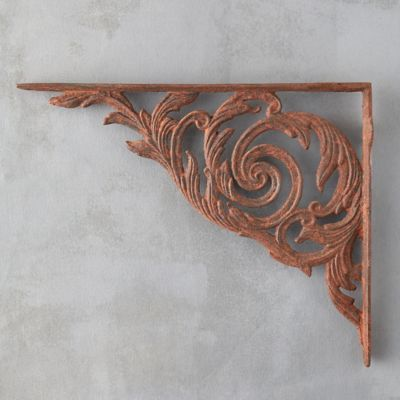 Acanthus Iron Wall Bracket