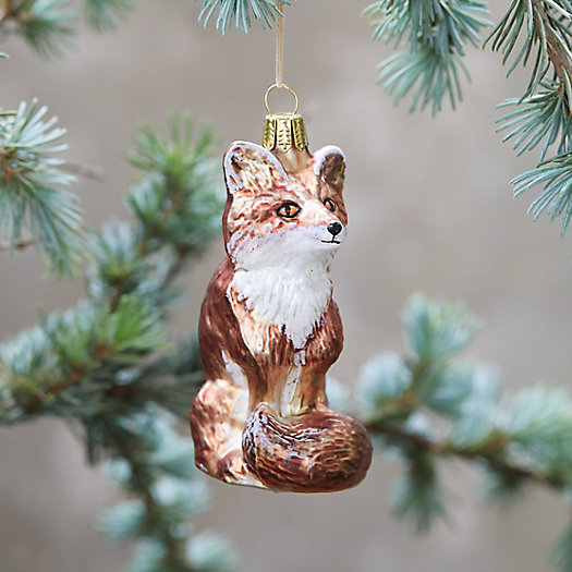 View larger image of Sly Fox Glass Ornament
