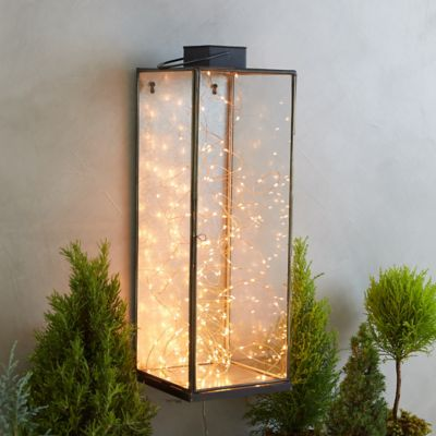 Slim Wall Lantern Sconce
