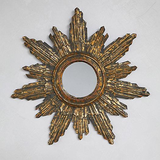 View larger image of Starburst Round Wall Mirror