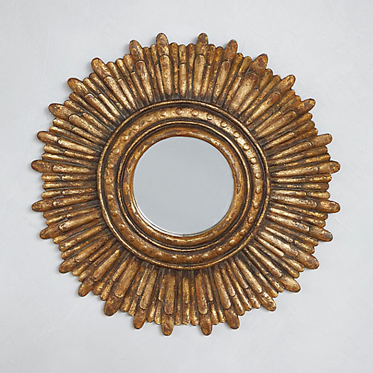 View larger image of Sunburst Round Wall Mirror