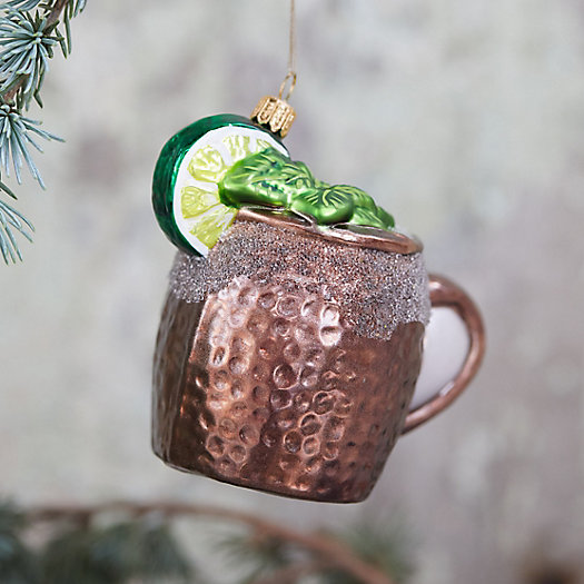 View larger image of Moscow Mule Glass Ornament