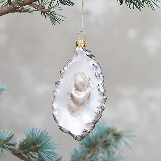 View larger image of Half Shell Oyster Glass Ornament