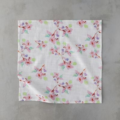 Pink Blossoms Napkin