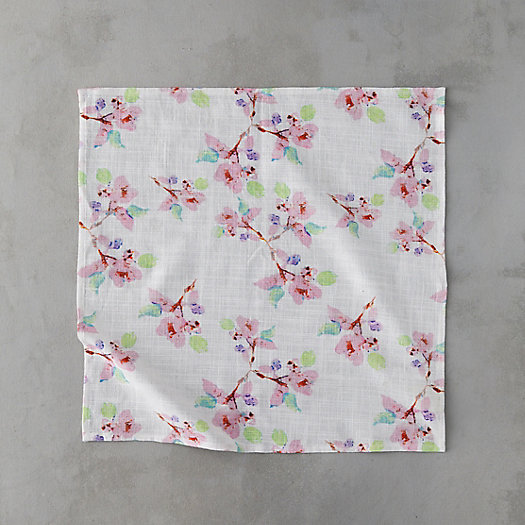 View larger image of Pink Blossoms Napkin