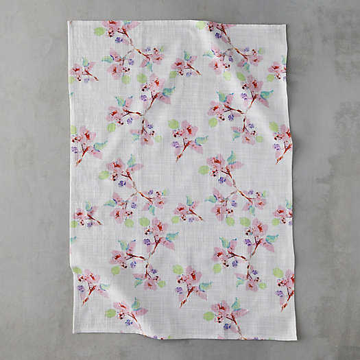 View larger image of Pink Blossoms Tea Towel