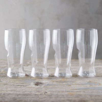 Shatterproof Beer Glasses, Set of 4