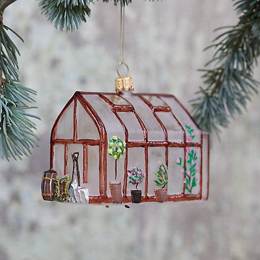 View larger image of Greenhouse Glass Ornament