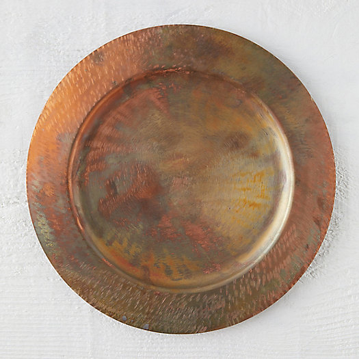 View larger image of Oxidized Copper Charger