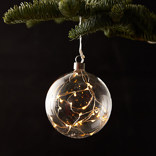 View larger image of Stargazer Starry Glass Ornament
