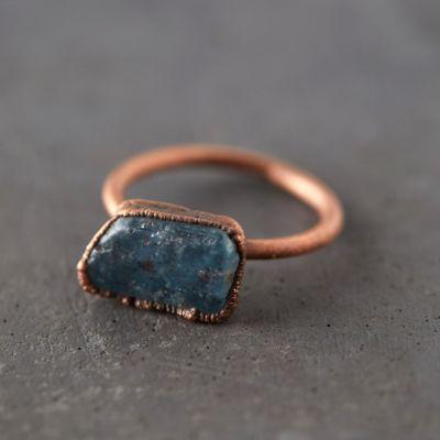 Tumbled Kyanite Ring