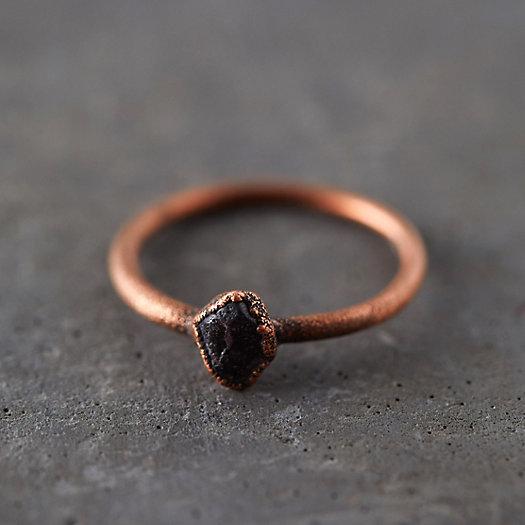 View larger image of Raw Garnet Ring
