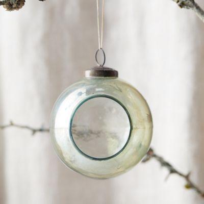 Fillable Glass Globe Ornament