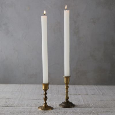 Timber Taper Candles, Set of 6
