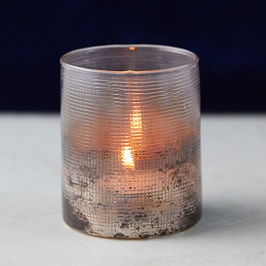 View larger image of Cross Etched Votive Holder