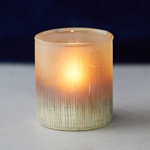 View larger image of Gold Ombre Votive Holder