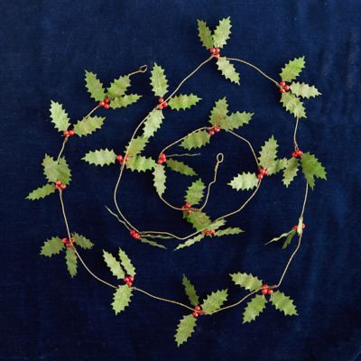 Holly Berry Garland