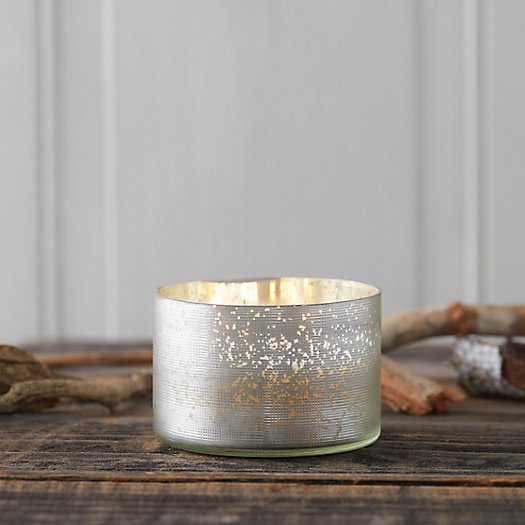 View larger image of Mercury Glass Candle, Balsam + Cedar