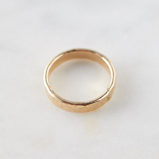View larger image of Hammered Gold Band Ring