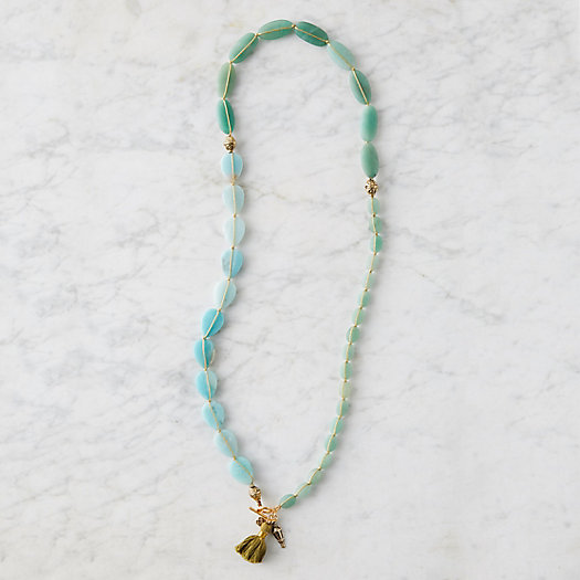 View larger image of Beaded Aventurine & Amazonite Necklace