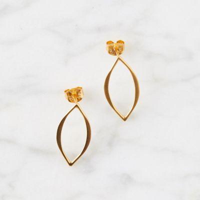 Marquis Post Earrings