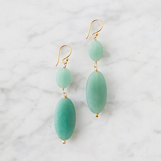 View larger image of Green Aventurine Drop Earrings