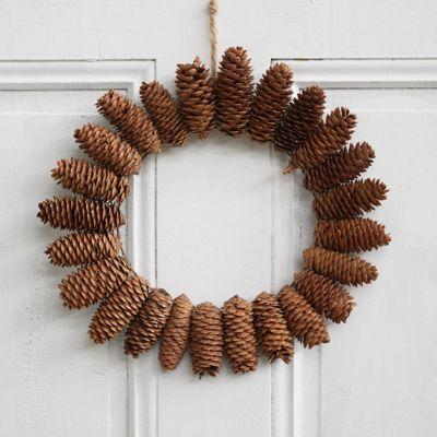 Starburst Fir Cone Wreath