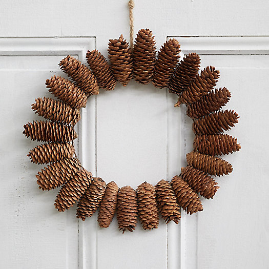 View larger image of Starburst Fir Cone Wreath