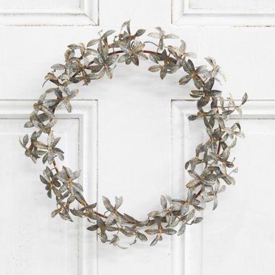 Iron Tiered Leaf Wreath