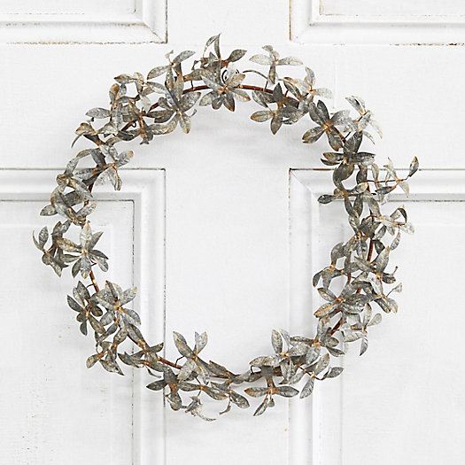 View larger image of Iron Tiered Leaf Wreath