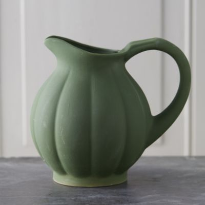 Bourgogne Pumpkin Pitcher, Wide Mouth