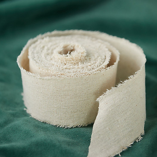View larger image of Frayed Linen Ribbon