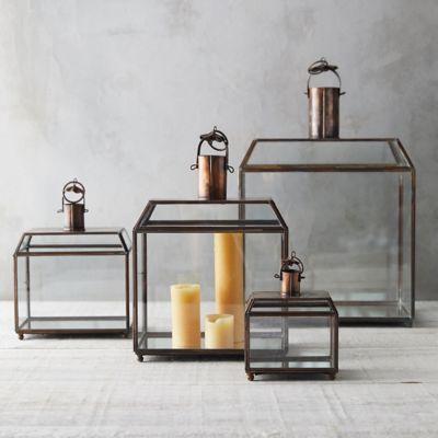 Brass Edge Lantern