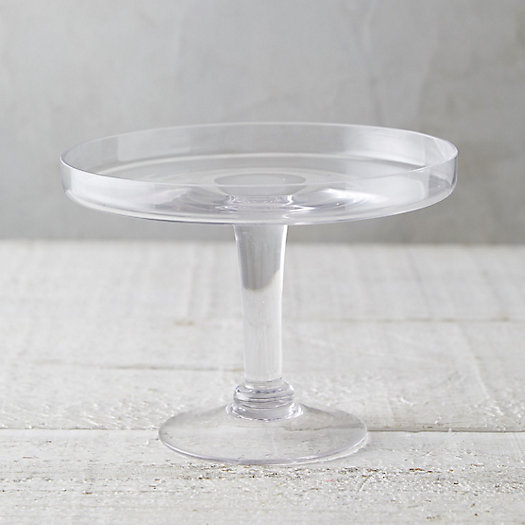 View larger image of Glass Serving Stand