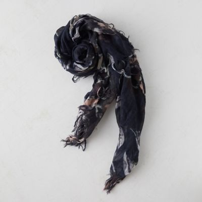 Midnight Blooms Scarf