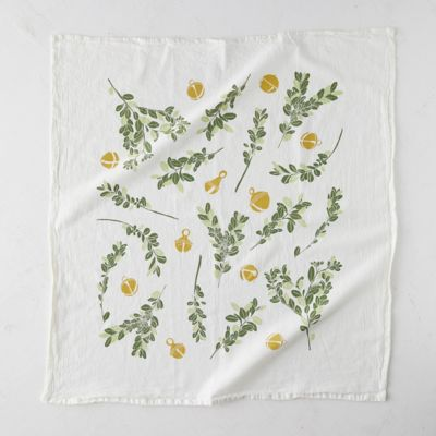 Boxwood + Bells Tea Towel