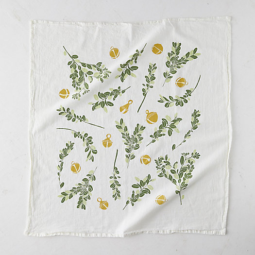 View larger image of Boxwood + Bells Tea Towel