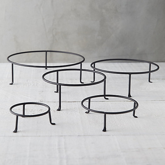 View larger image of Matte Black Plant Stand, Short