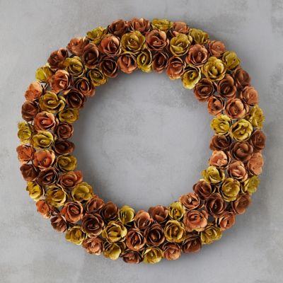 Iron Rosebud Wreath