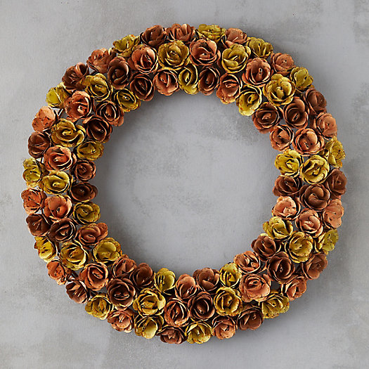 View larger image of Iron Rosebud Wreath