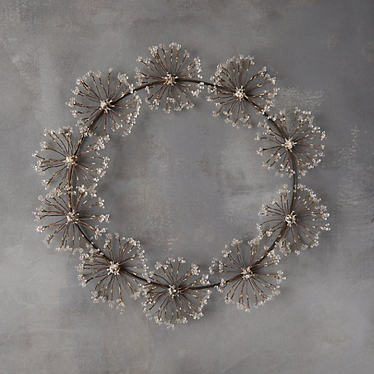 View larger image of Beaded Iron Angelica Wreath
