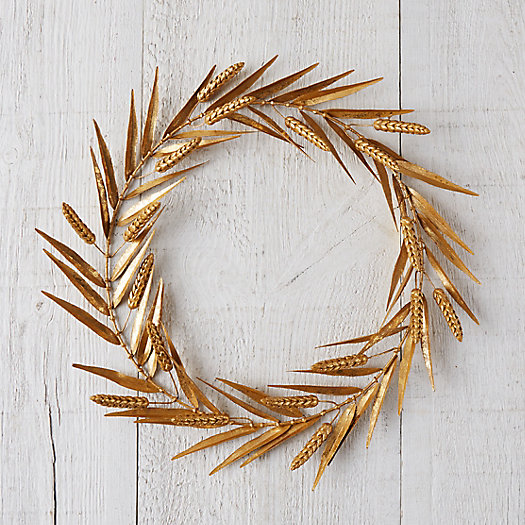 View larger image of Golden Wheat Wreath