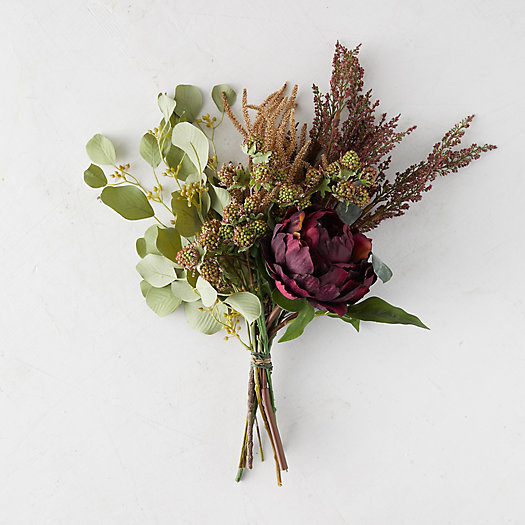 View larger image of Hemingway Faux Peony Bouquet
