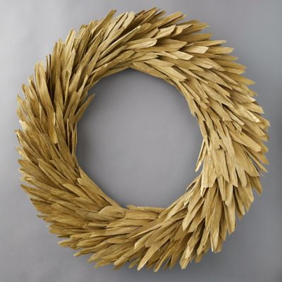 Preserved Corn Husk Wreath