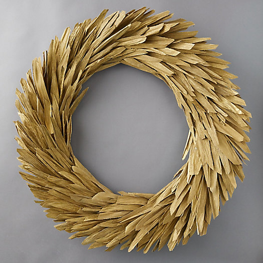 View larger image of Preserved Corn Husk Wreath