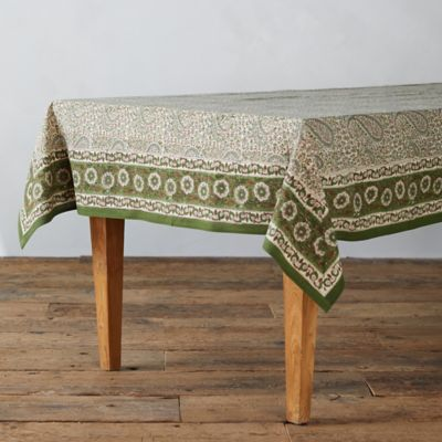 Paisley Fern Tablecloth